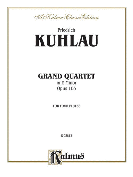 Grand Quartet in E Minor, Op. 103