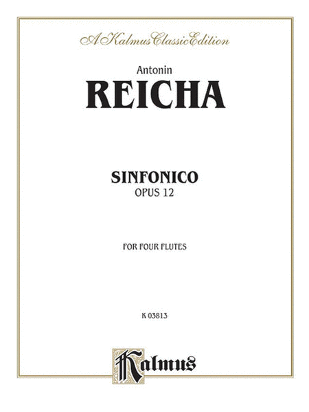 Sinfonica for Four Flutes, Op. 12
