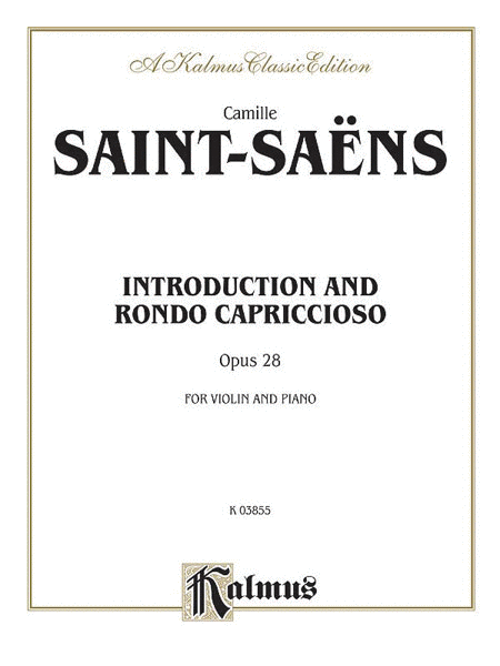 Introduction and Rondo Capriccioso, Op. 28