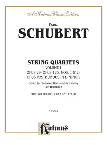 String Quartets, Volume 1