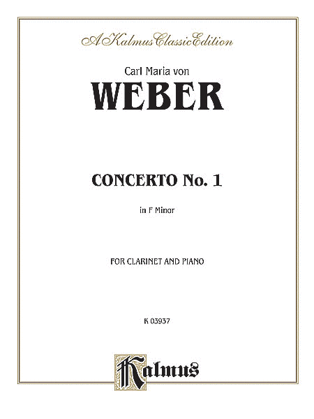 Clarinet Concerto No. 1 in F Minor, Op. 73 (Orch.)