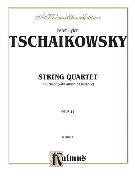 String Quartet in D Major, Op. 11