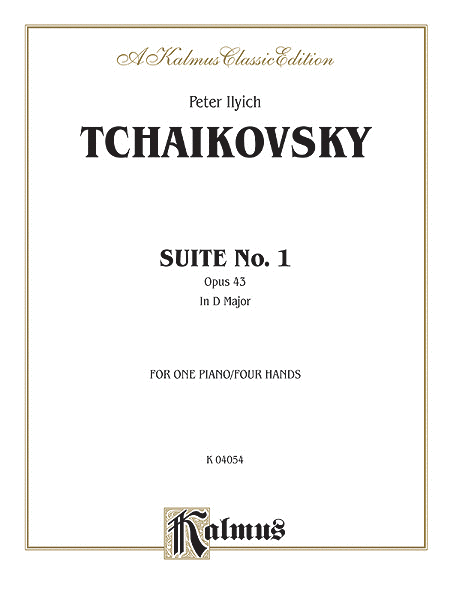Suite No. 1 in D Major, Op. 43