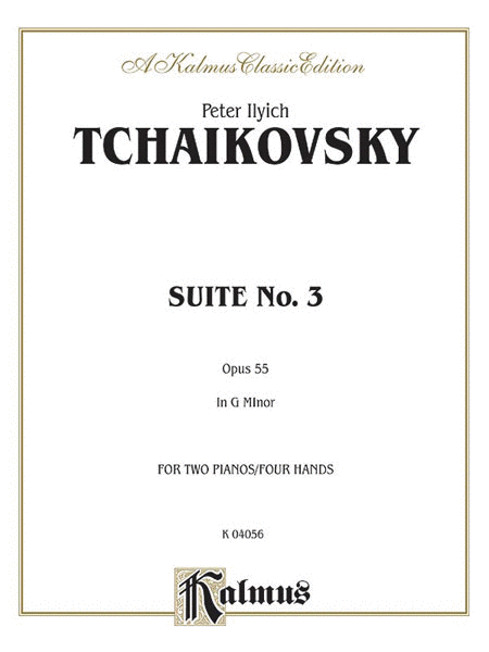 Suite No. 3 in G Major, Op. 55