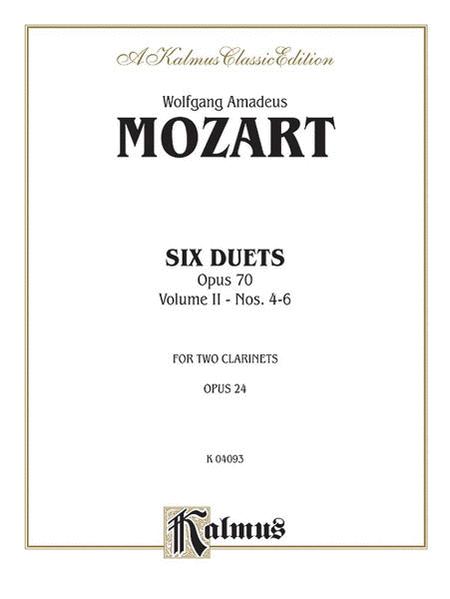 Six Duets, Volume 2