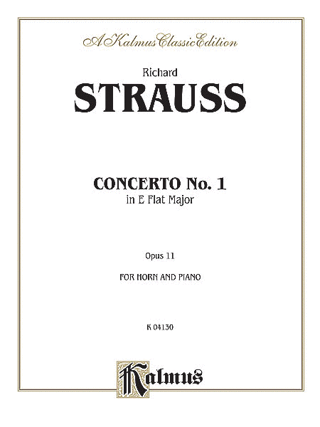 Horn Concerto No. 1, Op. 11 in E-flat Major (Orch.)