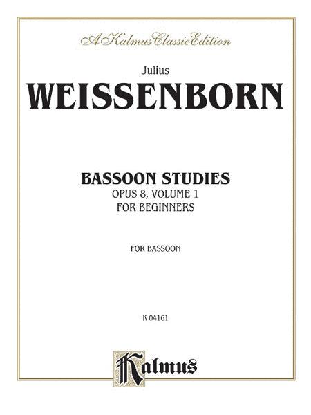 Bassoon Studies for Beginners, Op. 8