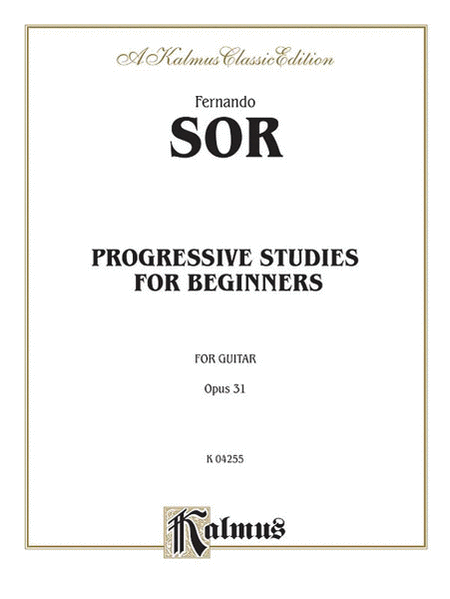 Progressive Studies for Beginners, Op. 31