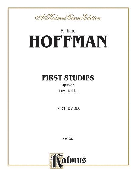 First Studies, Op. 86