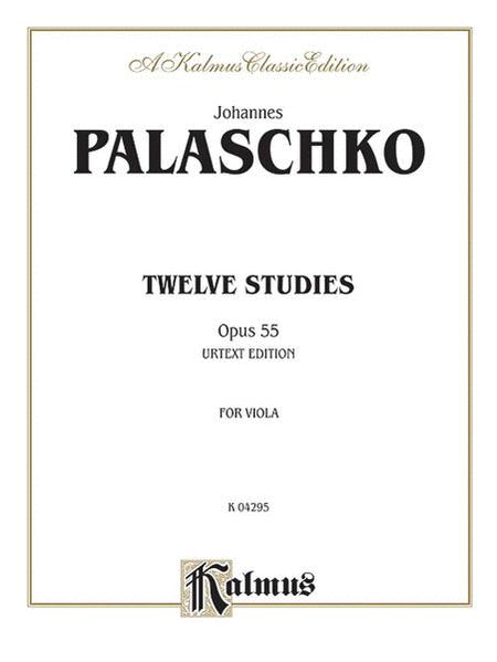 Twelve Studies, Op. 55