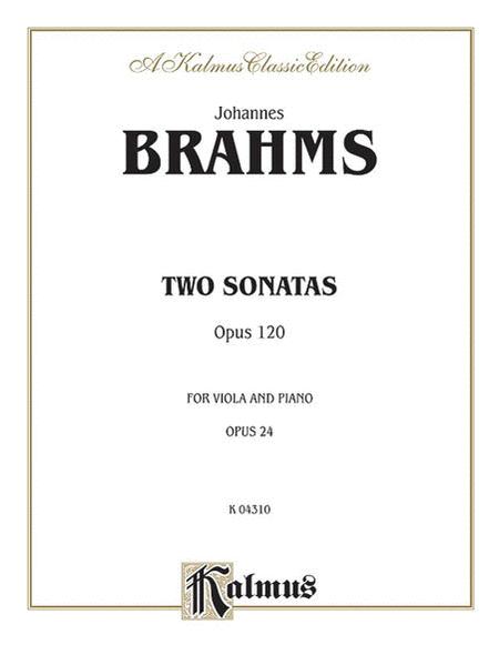 Two Sonatas, Op. 120