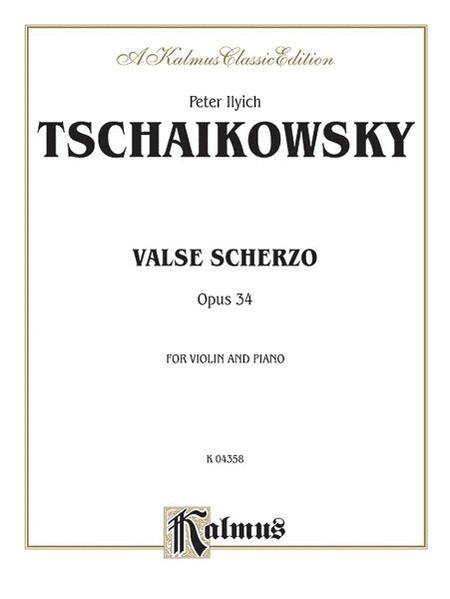 Valse Scherzo, Op. 34 (Urtext)