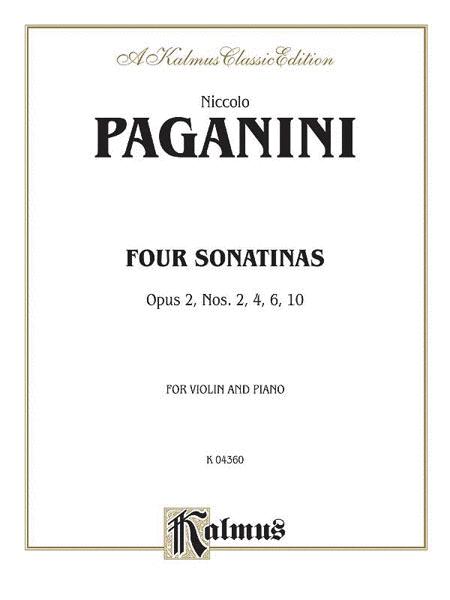 Four Sonatinas, Op. 2 Nos. 2, 4, 6, 10