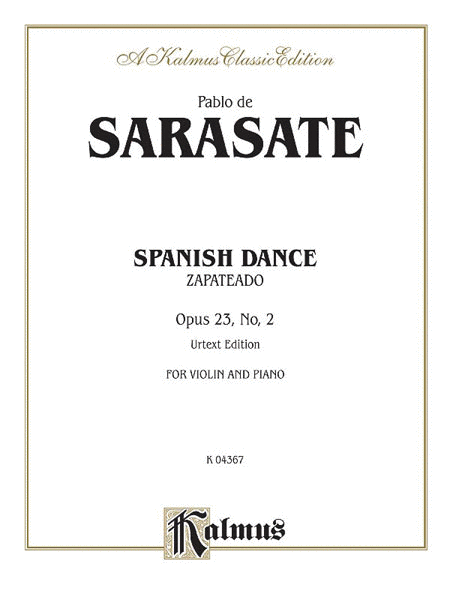 Spanish Dance, Op. 23, No. 2 (Zapateado)