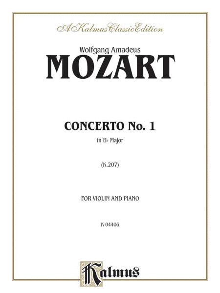 Violin Concerto No. 1, K. 207