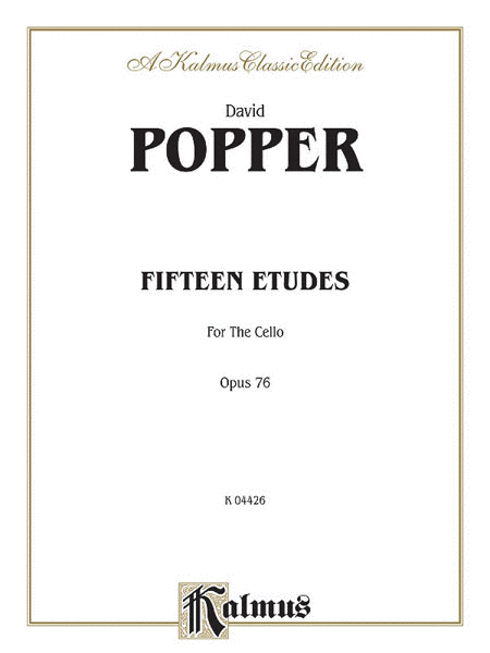 Fifteen Etudes for Cello, Op. 76