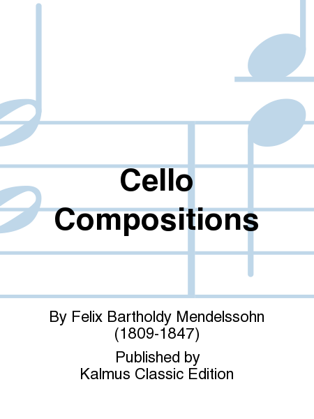 Cello Compositions