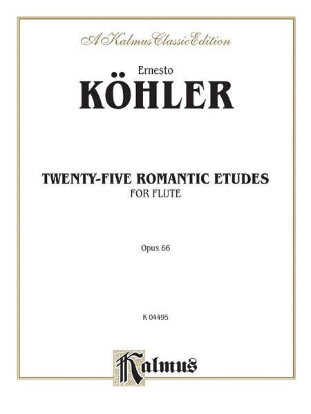 Twenty-five Romantic Etudes, Op. 66
