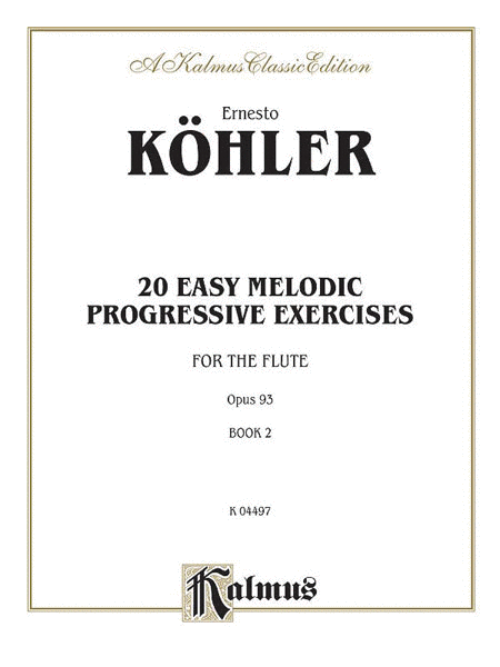 Twenty Easy Melodic Progressive Exercises, Op. 93, Volume 2