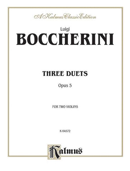 Three Duets, Op. 5