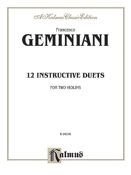 Twelve Instructive Duets