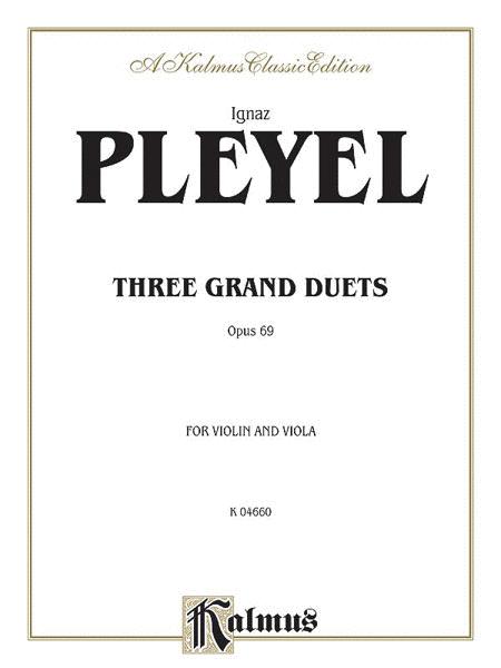 Three Grand Duets, Op. 69