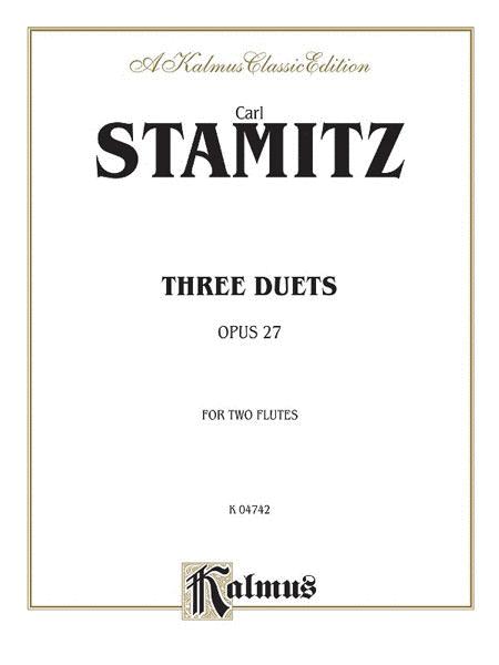 Three Duets, Op. 27