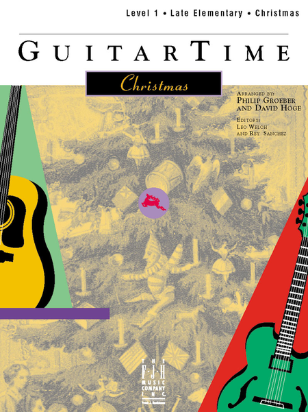 GuitarTime Christmas, Level 1, Pick Style