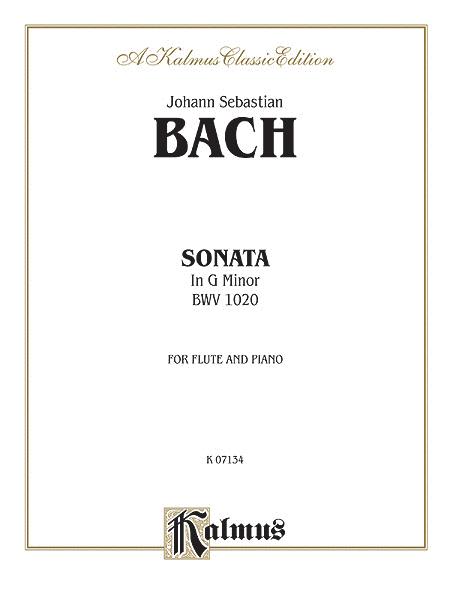 Sonata in G Minor, BWV 1020
