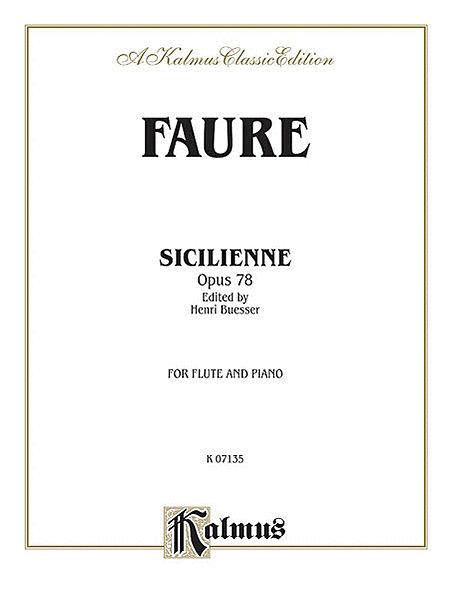 Sicilienne, Op. 78