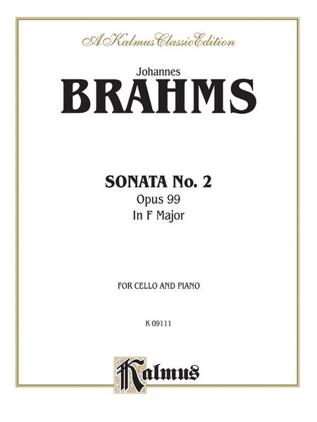 Sonata No. 2, Op. 99 in F Major
