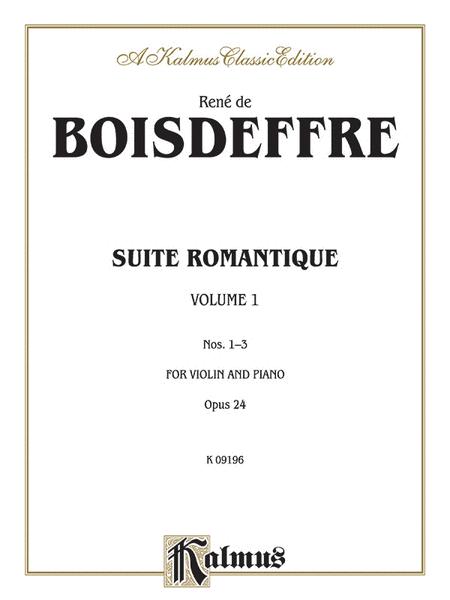 Suite Romantique, Op. 24, Nos. 1-3