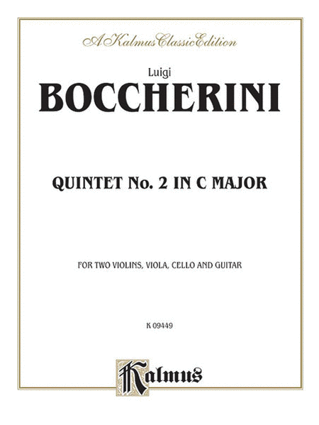 Quintet No. 2 in C Major