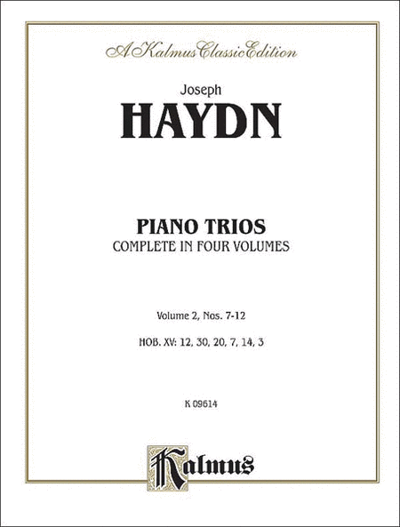 Trios for Violin, Cello and Piano, Volume 2