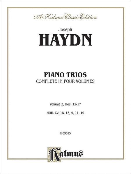 Trios for Violin, Cello and Piano, Volume 3