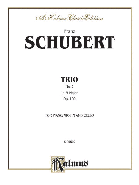 Trio No. 2 in E-flat Major, Op. 100
