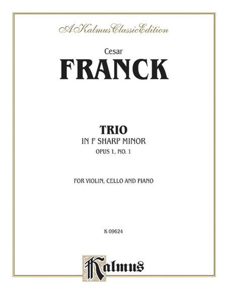 Trio in F-sharp Minor (Op. 1, No. 1)
