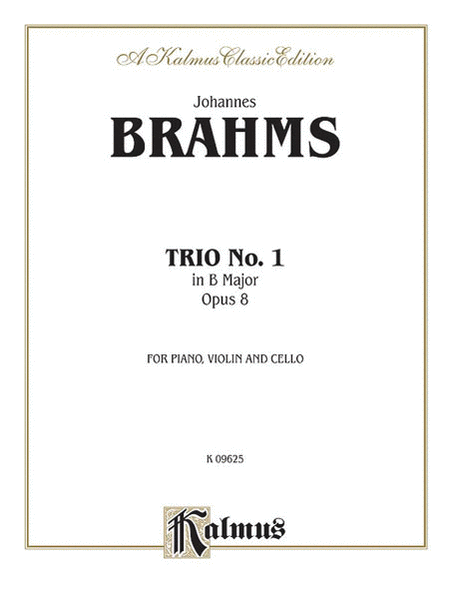 Piano Trio No. 1 in B Major, Op. 8