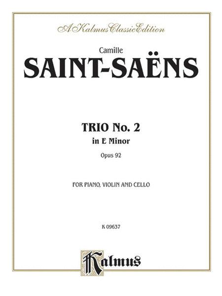 Trio No. 2, Op. 92