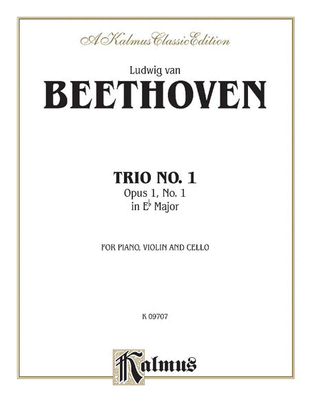 Piano Trio No. 1 -- Op. 1, No. 1