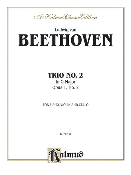 Piano Trio No. 2 -- Op. 1, No. 2