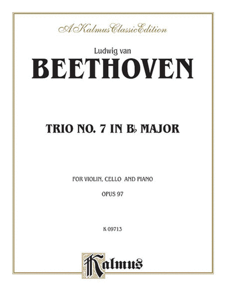 Piano Trio No. 7