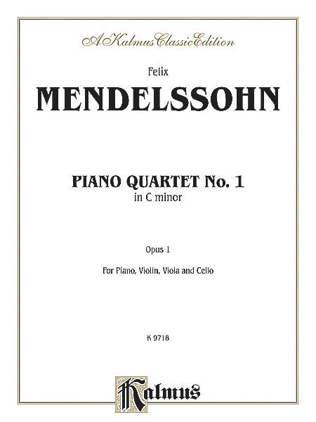 Piano Quartet, Op. 1