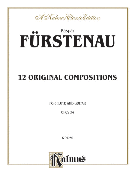 12 Original Compositions, Op. 34