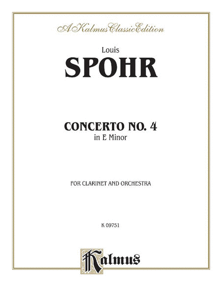 Clarinet Concerto No. 4 in A Minor