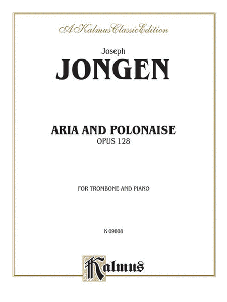 Aria and Polonaise, Op. 128