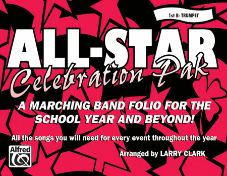 All-Star Celebration Pak - 1st Bb Trumpet