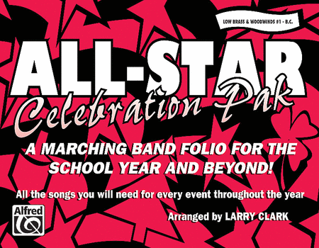 All-Star Celebration Pak - Low Brass & Woodwinds #1