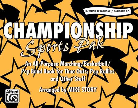Championship Sports Pak - Bb Tenor Saxophone/Baritone