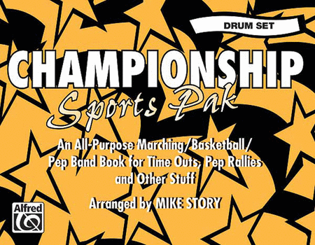 Championship Sports Pak - Drum Set